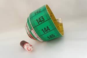 pillole dietetiche e metro